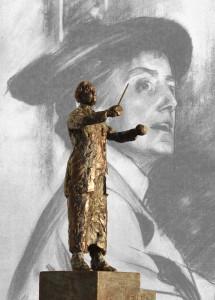 statuette med Ethel